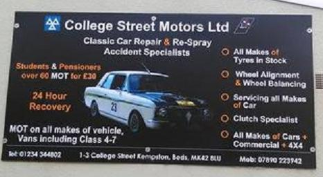College Street Motors Ltd logo