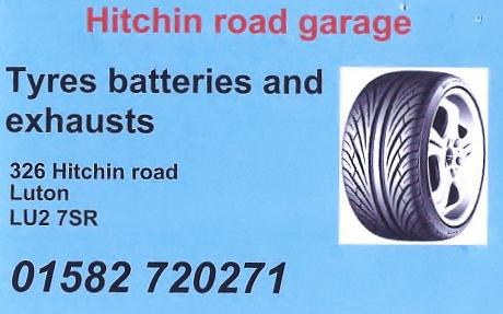 Hitchin Road Garage logo