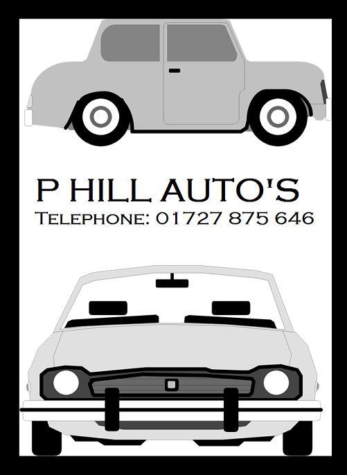 P Hill Auto's logo
