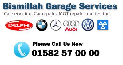 Bismillah Garage logo