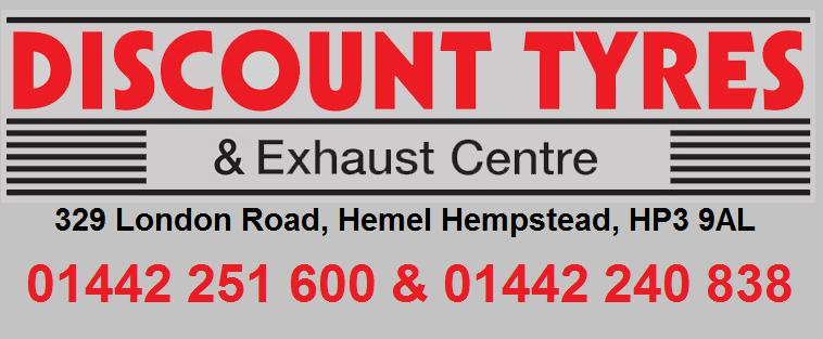 Discount Tyres & Exhaust Centre logo