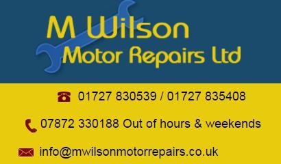 M Wilson Motor Repairs Ltd logo