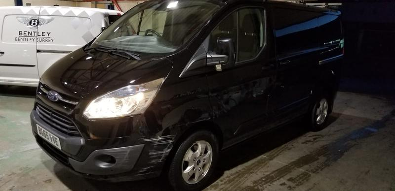 Image 3 - FORD TRANSIT before & after photos. The van has since sold for£2000more since AUTOKLEAN valeted & machine polished the paint work