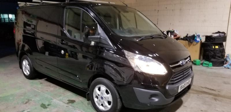 Image 4 - FORD TRANSIT before & after photos. The van has since sold for£2000more since AUTOKLEAN valeted & machine polished the paint work